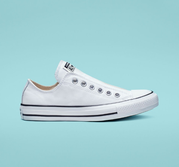 Chuck Taylor All Star Leather Slip, best slip-on sneakers for women