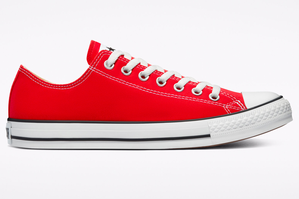 converse, chuck taylor, all star, red