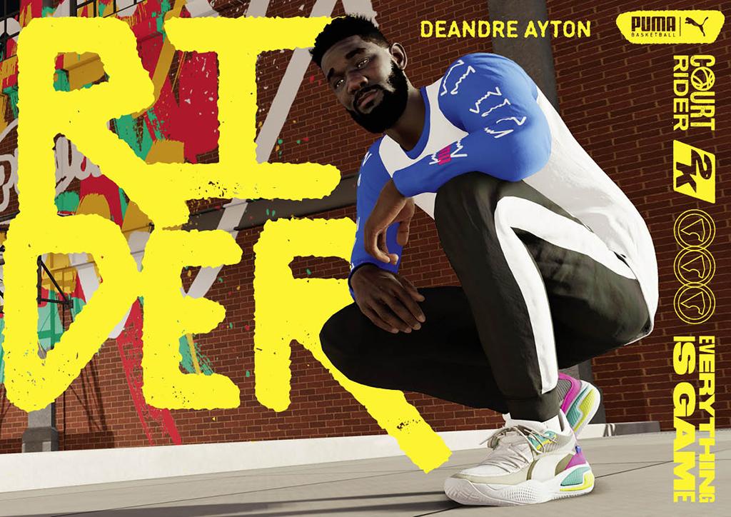 Deandre Ayton Puma Court Rider 2K