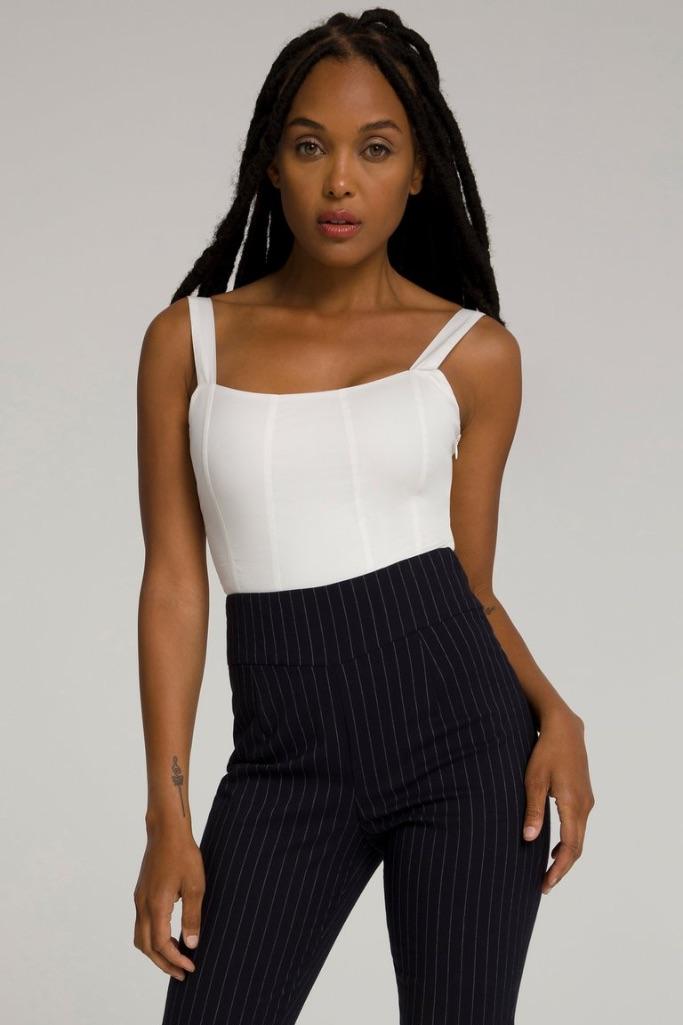 Good American contoured poplin bodysuit, Good American sample sale