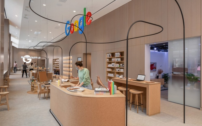Google NYC Chelsea Store