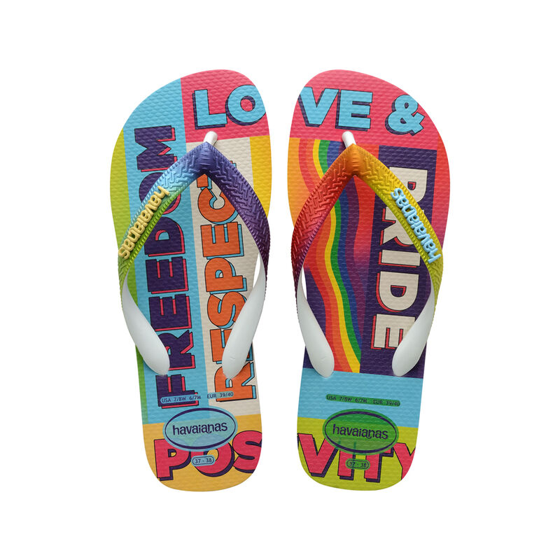 havaianas pride sandals, 2021, lgbtq
