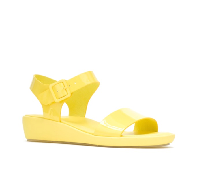 Hush Puppies Brite Jells Wedge Sandal, best jelly shoes and sandals