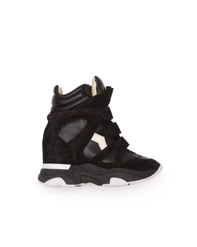 Isabel Marant Balksee Wedge Sneaker in Black