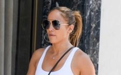 Jennifer Lopez heads out shopping. 13