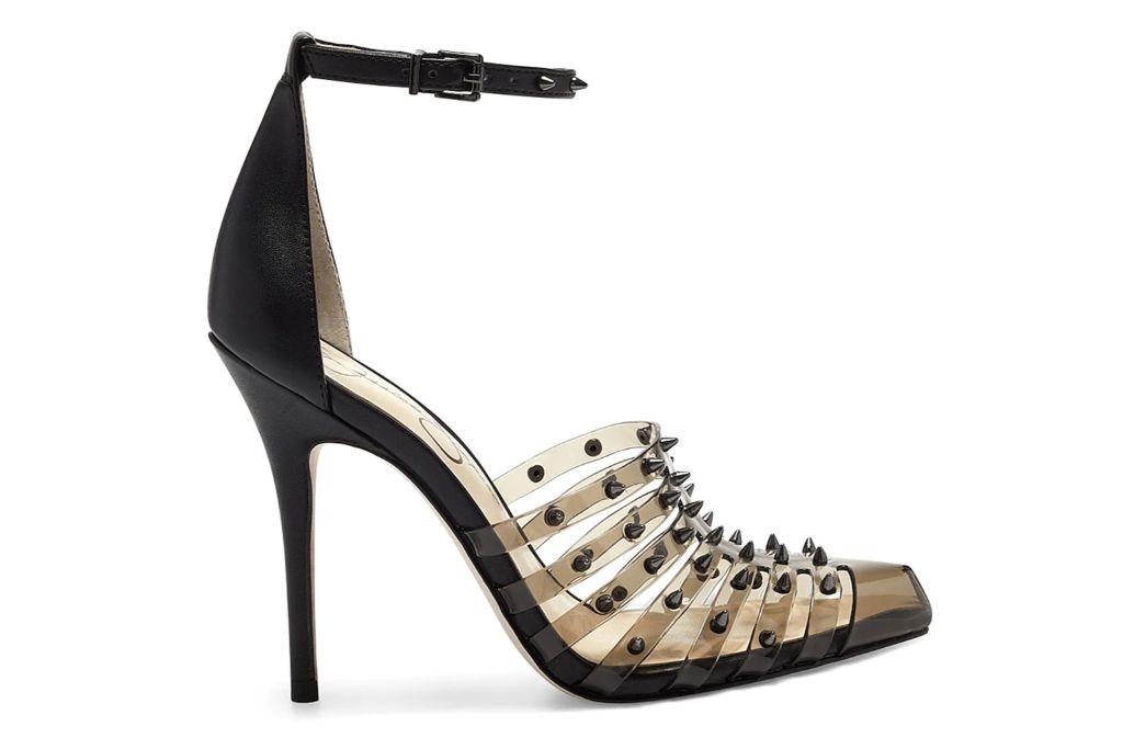jessica simpson, spiked heels