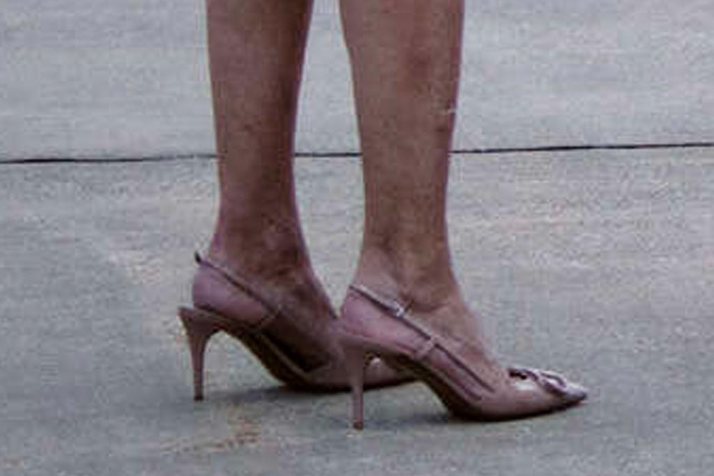 jill biden, red dress, dress, heels, valentino, dr fauci, florida, flight, orlando