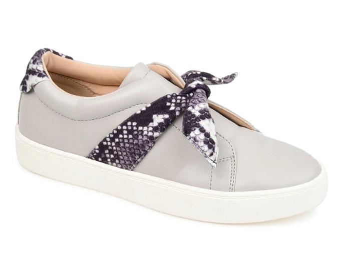 Journee Ash Slip-On Sneaker, best slip-on sneakers for women