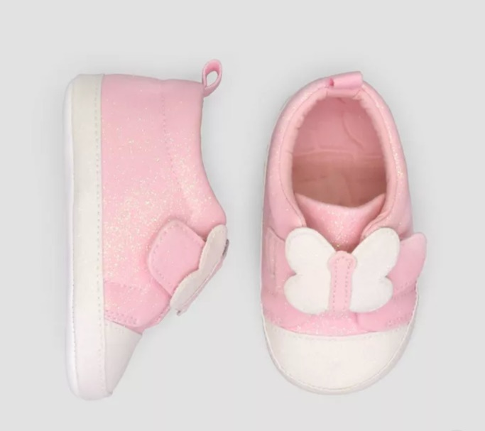 Just One You made by carter's Butterfly Sneakers, target shoes for baby girl