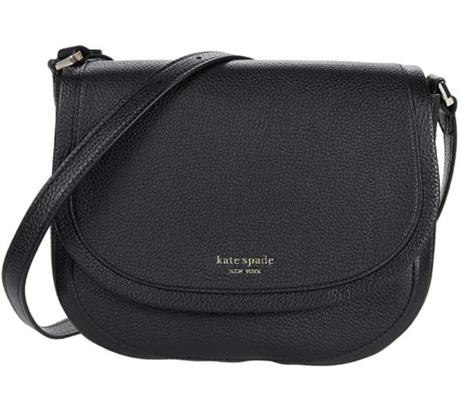 Kate Spade New York Roulette Large Saddle Bag, best Amazon Prime Days Handbag Deals