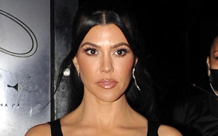 kourtney-kardashian-cutout-dress-heels