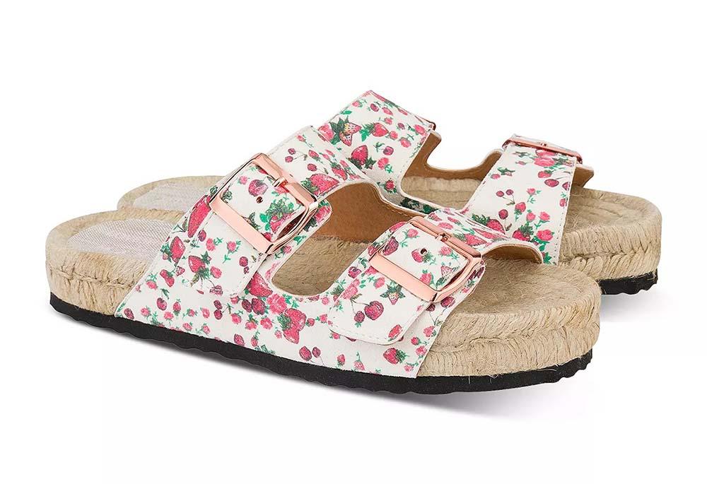 Women's Nordic Espadrille Slide Sandals