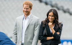 meghan markle, prince harry, welcome daughter