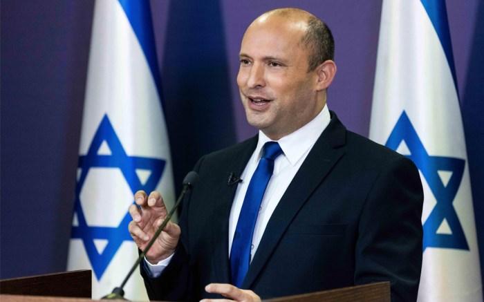 Israel Prime Minister Naftali Bennett