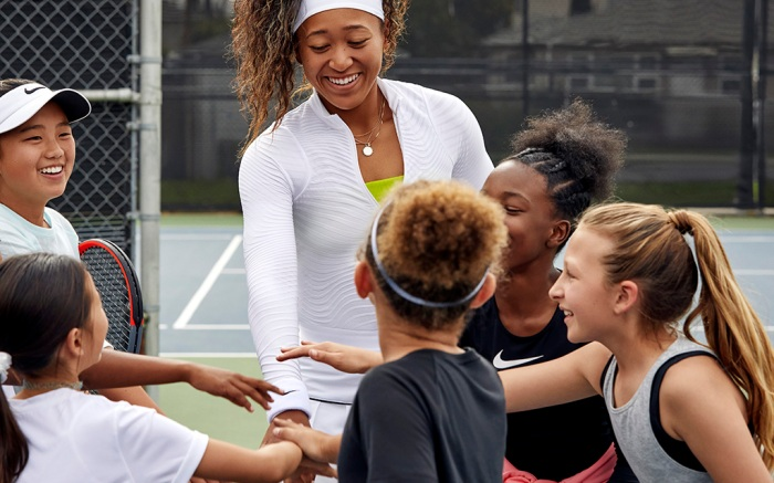 Naomi Osaka, Nike
