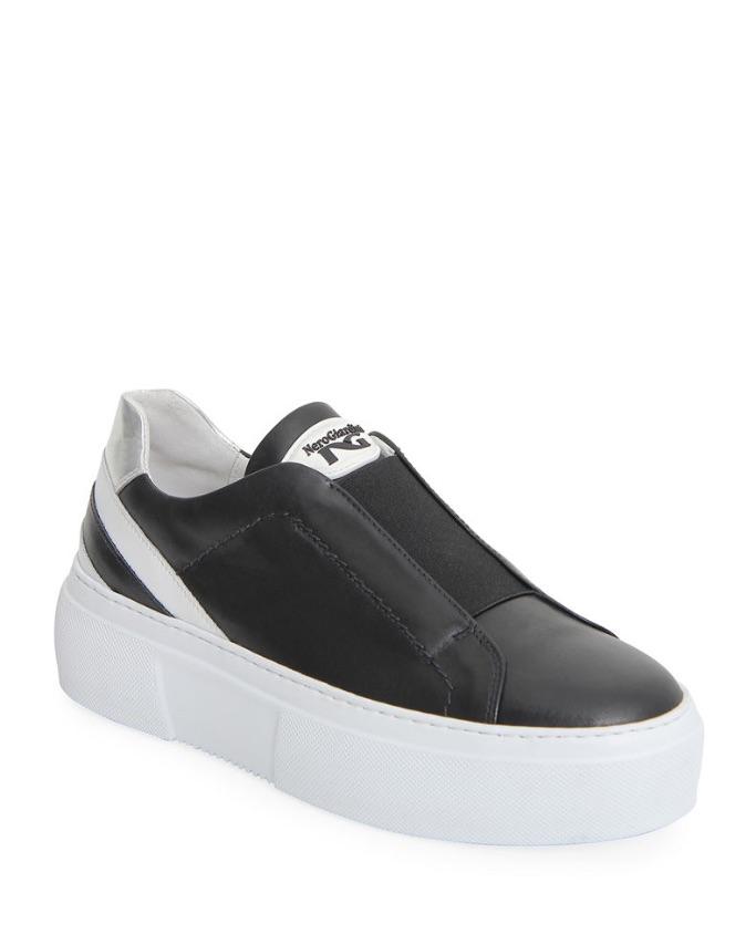 NeroGiardini E010881D Slip-On Sneakers, best slip-on sneakers for women