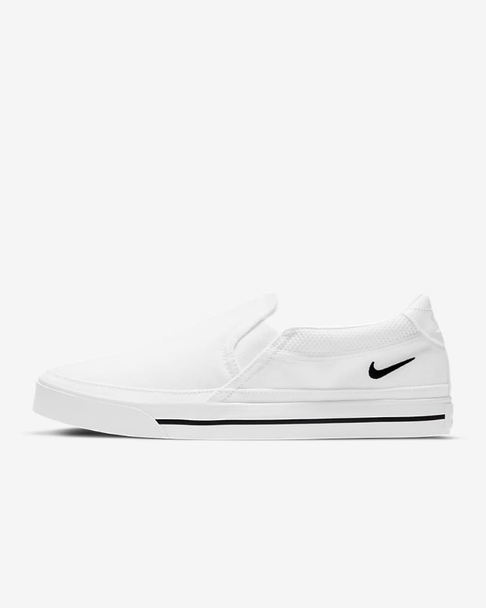 Nike court legacy slip-on sneakers, best slip-on sneakers for women