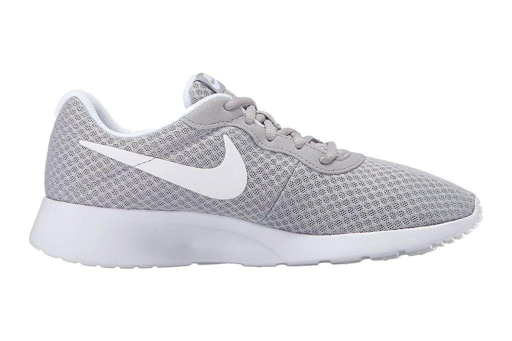 nike, tanjun sneakers, gray sneakers