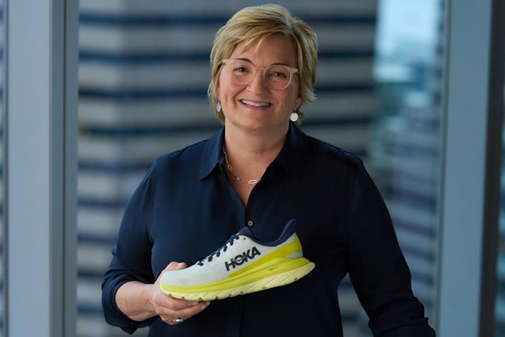 Hoka One One VP of global brand marketing Norma Delaney