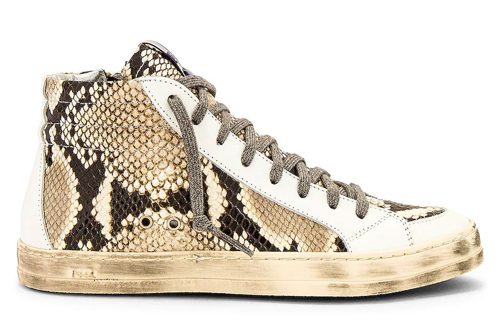 snakeskin sneakers, python, p448