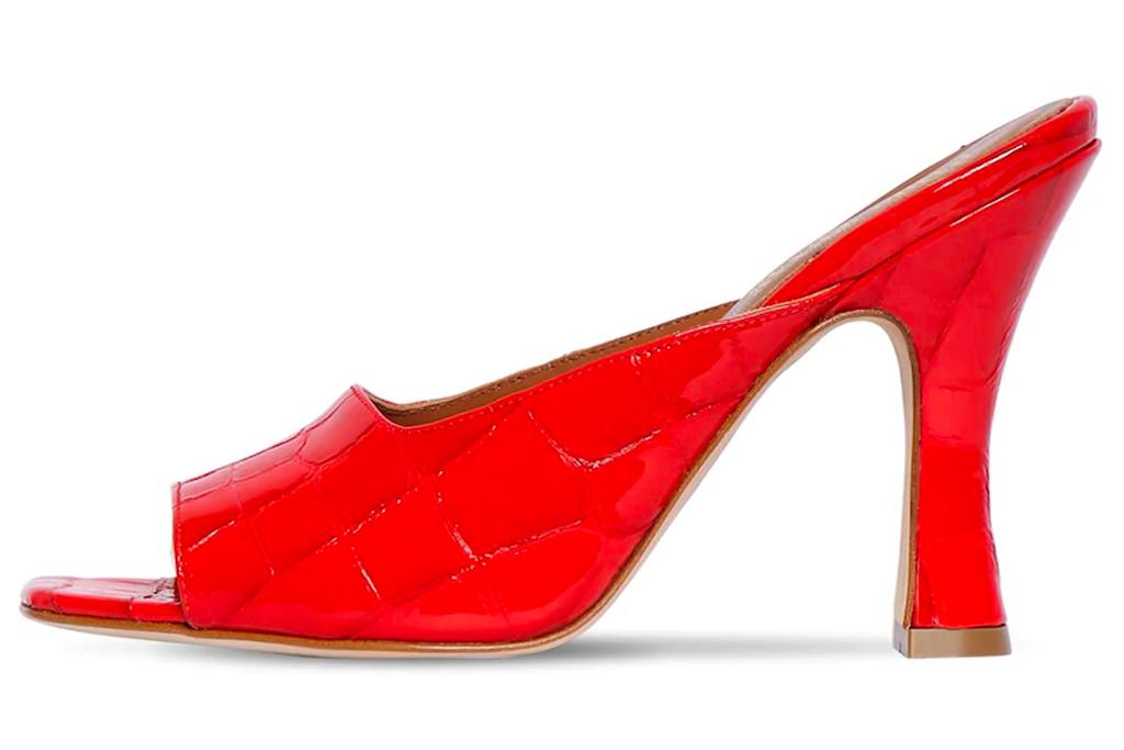 red heels, mules, paris texas