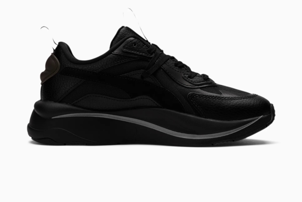 puma, RS-curve night ice sneakers, black sneakers