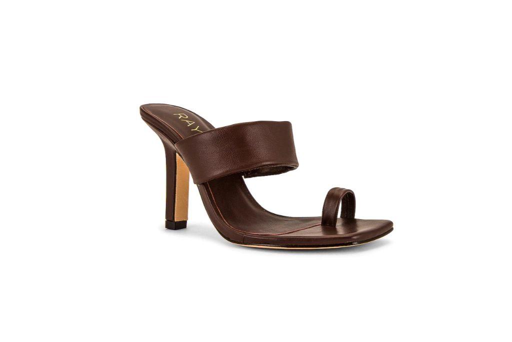 raye, rossi heel, big toe sandals