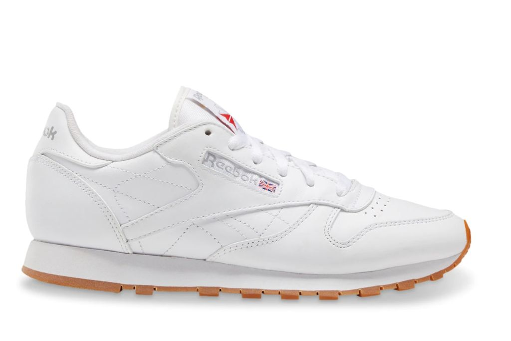 reebok, classic leather, white sneakers