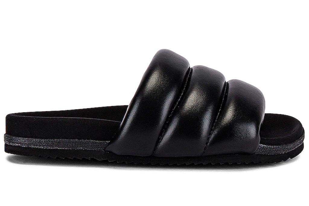 slides, puff slides, sandals, roam