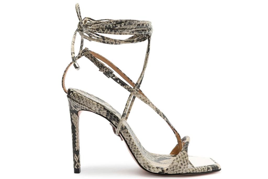 schutz, sandals, vikki, heels, snakeskin