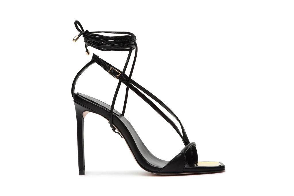 schutz, vikki leather sandal, strappy heels