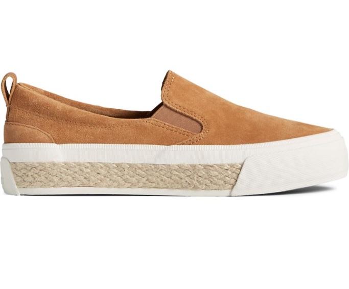 Sperry Crest Twin Gore Platform Resort Slip-On Sneaker, best slip-on sneakers for women