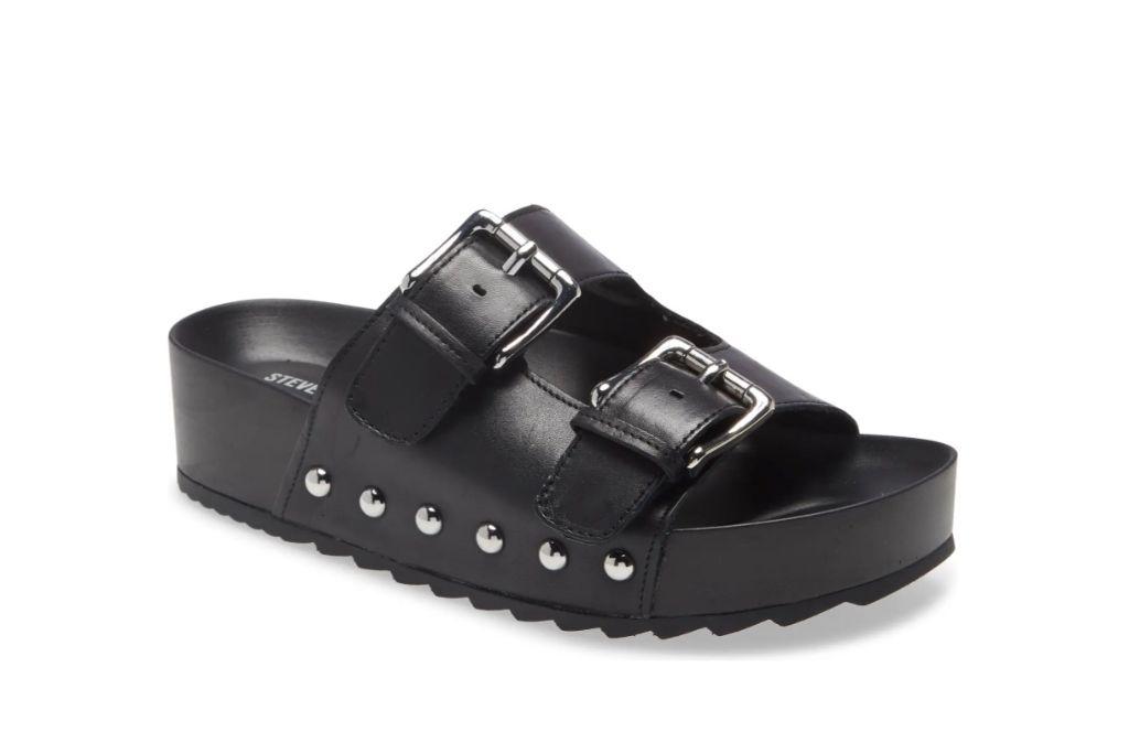 steve madden, moore platform slide sandal, ugly sandals