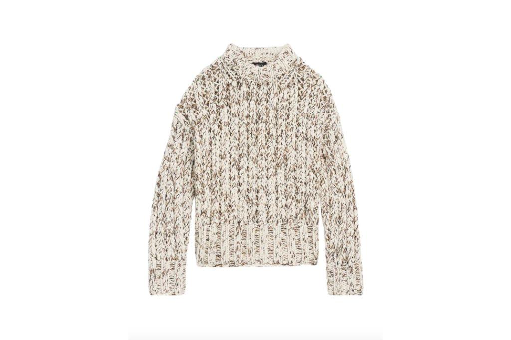 theory, knit sweater, chunky sweaters