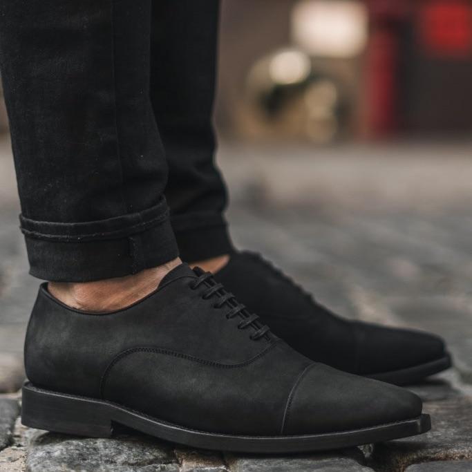 Thursday Boot Co, dress shoe, black, matte