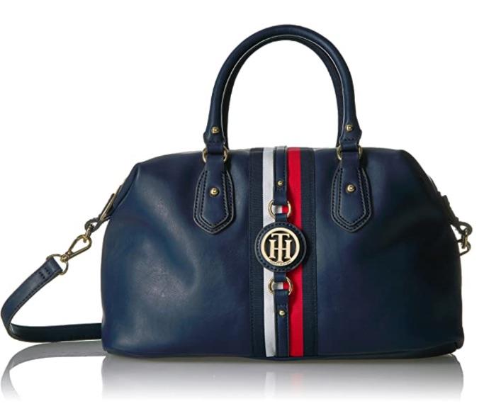 Tommy Hilfiger Women's Handbag Jaden Satchel, best Amazon Prime Day handbag deals