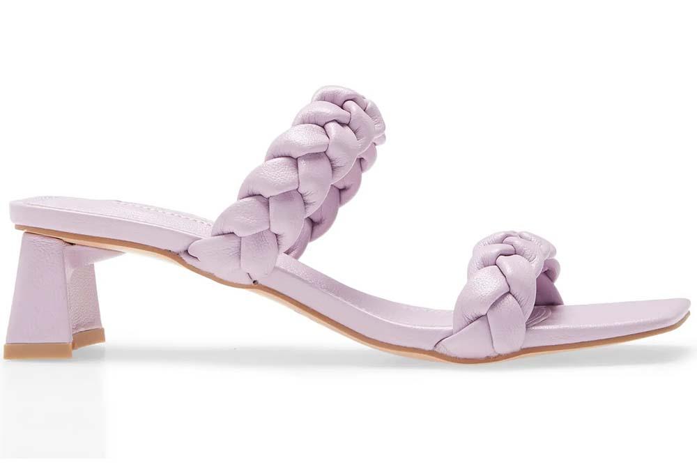 >Topshop Dream Braid Slide Sandals