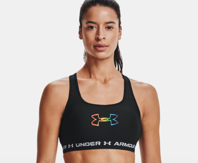 under armour pride sports bra, under armour pride collection 2021