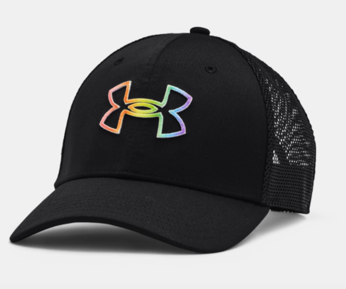 under armour pride trucker hat, under armour pride collection 2021