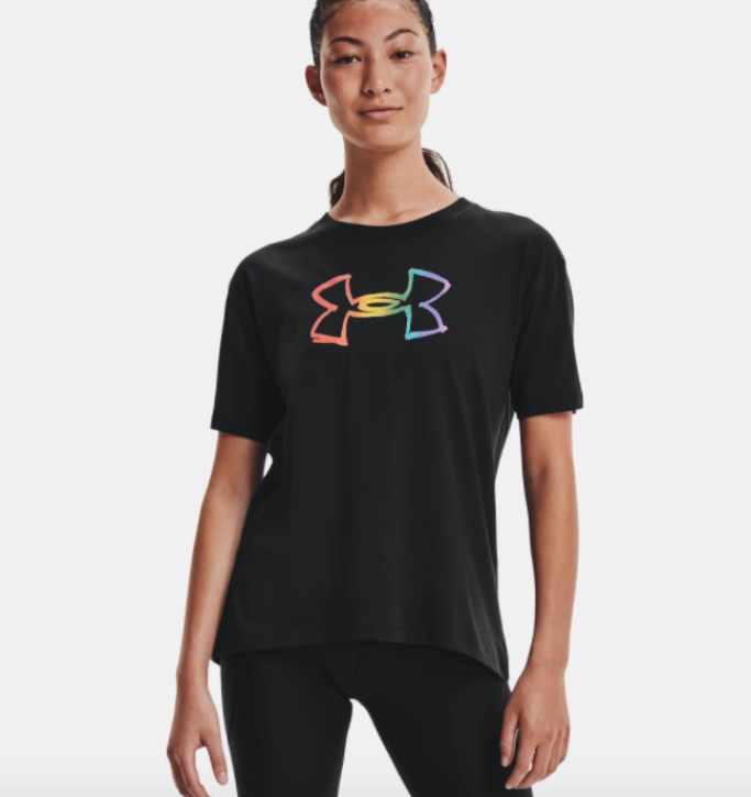 under armour pride graphic tee, under armour pride collection 2021