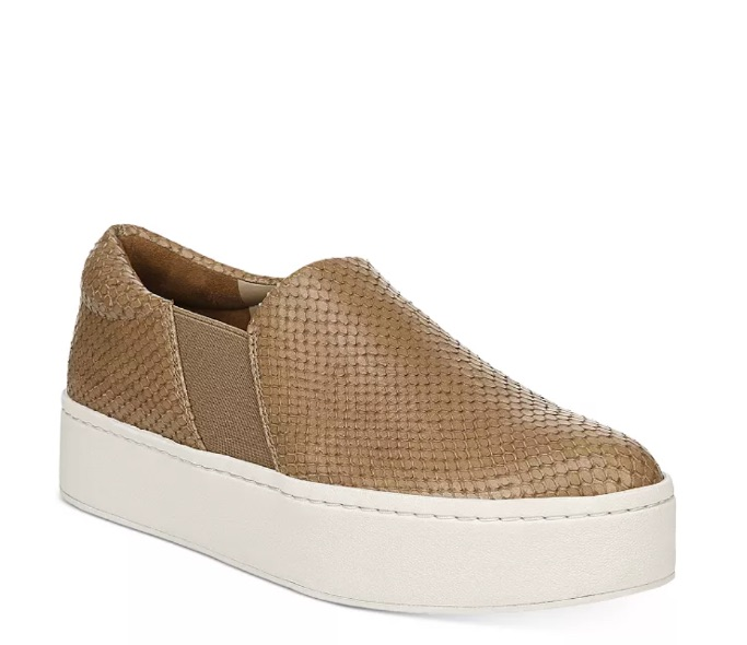 Vince Platform Slip-On Sneakers, best slip-on sneakers for women