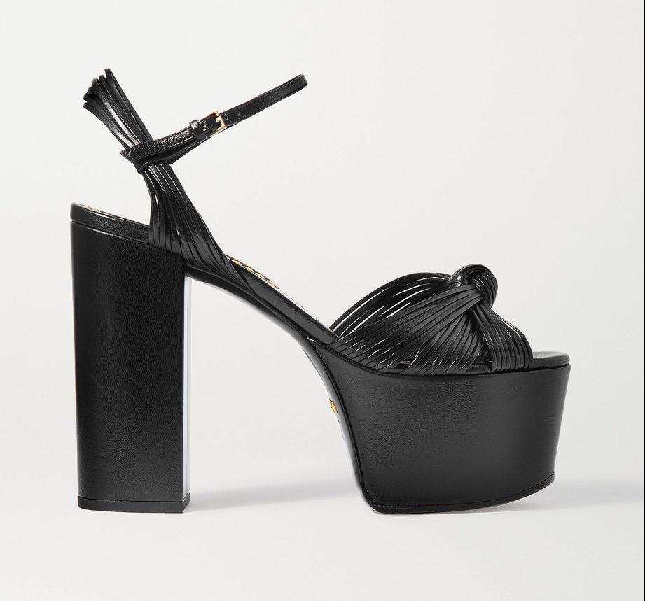 Gucci, platform sandals