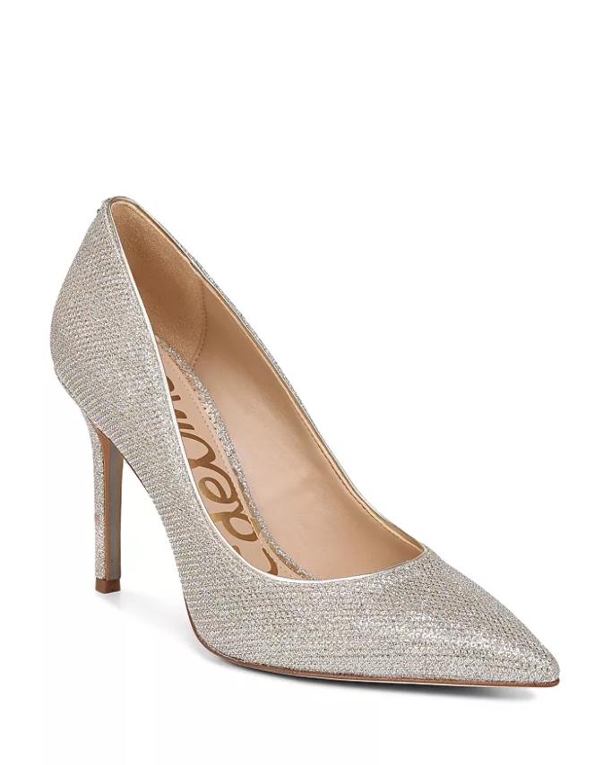 Sam Edelman Hazel Pointed Toe High-Heel Pump, affordable wedding heels