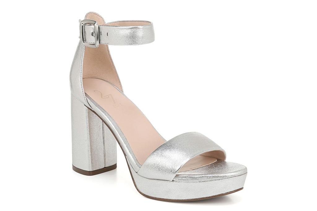 silver sandals, heels, platforms, 27 edit