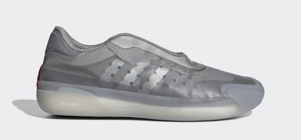 Prada x Adidas A+P Luna Rossa 21 'Matte Silver'