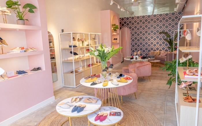 Birdies LA store, Bianca Gates, Marisa Sharkey