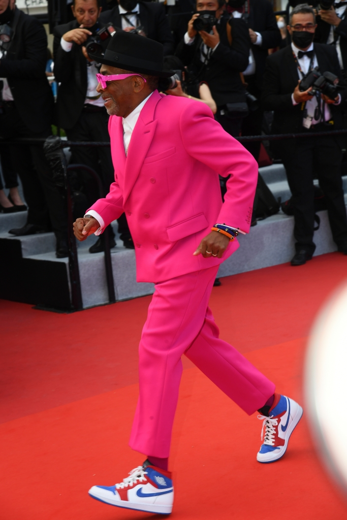 Spike Lee at the Opening Night Ceremony of 'Annette' at the Cannes Film Festival on July 6, 2021 in Cannes, France.