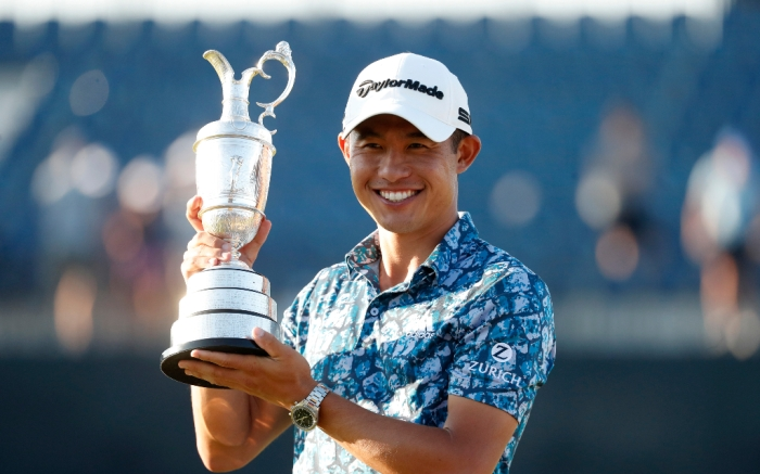 Collin Morikawa, Wins British Open