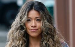 Gina Rodriguez, loafers, Players, blue jeans,