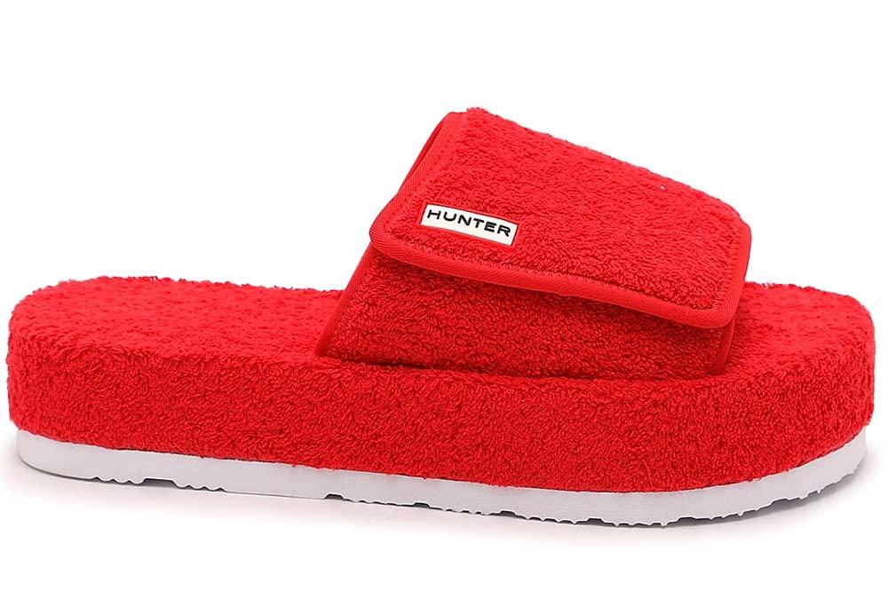 Hunter Terry Beach Slide Sandals